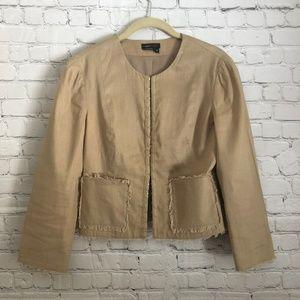 BCBGMaxAzria Khaki jacket S